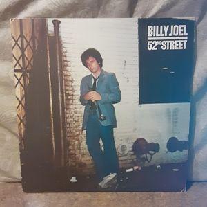 """Vintage 1978 Billy Joel """"52nd Street"""" Vinyl LP Alb"""